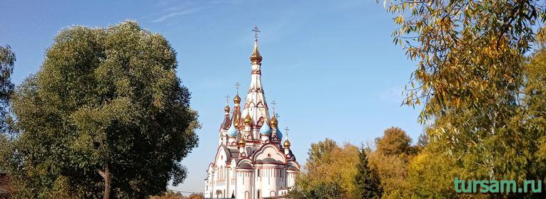 Казанская церковь в Долгопрудном
