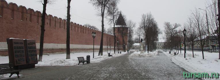 Кремлевский сад в Туле