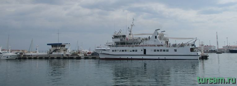 Морской порт в Сочи