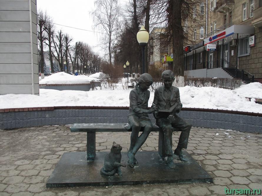 Памятник Место встречи в Туле-2