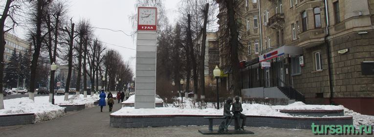 Памятник Место встречи в Туле