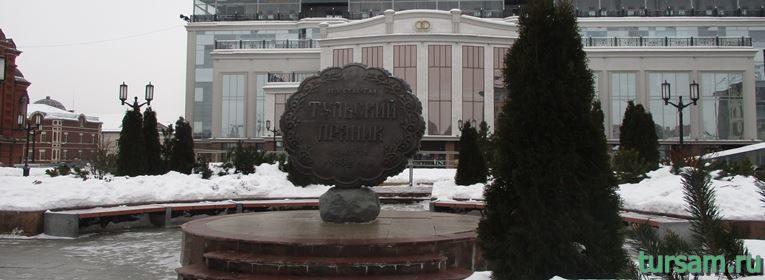 Памятник тульскому прянику в Туле