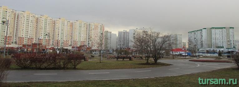 Парк имени Артема Боровика в Москве