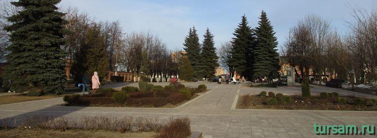 Площадь Революции в Истре