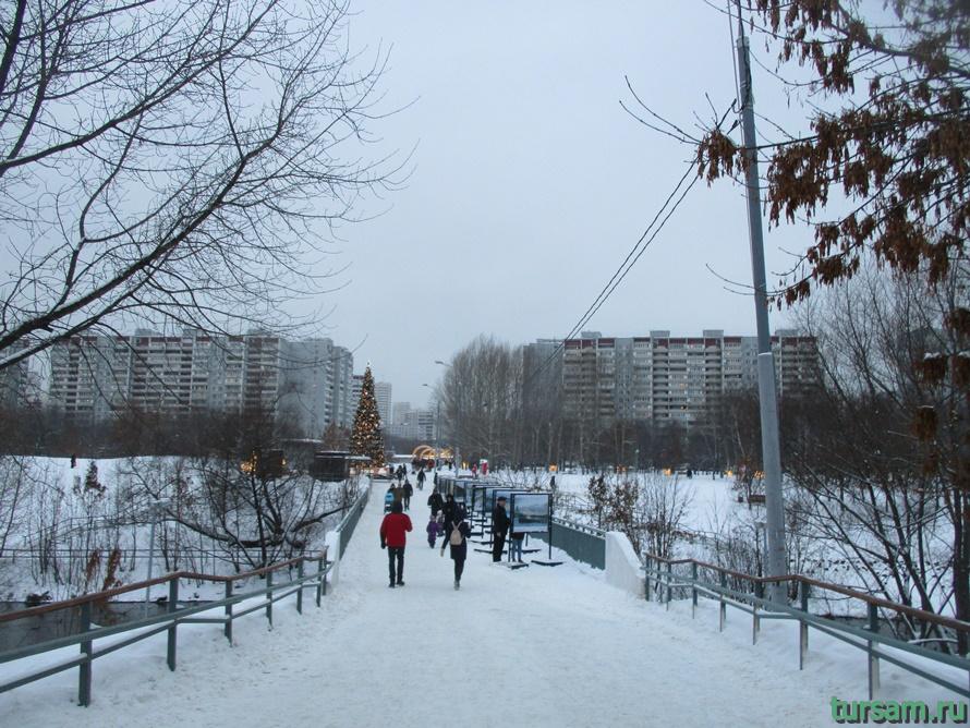 Сквер по Олонецкому проезду в Москве-4