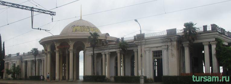 Станция Новый Афон в Абхазии-9