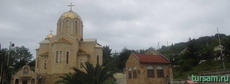 Свято-Никольский храм в Адлере