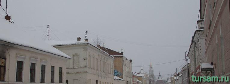Улица Металлистов в Туле