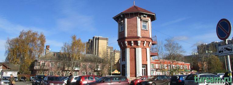 Водонапорная башня в Дмитрове-5