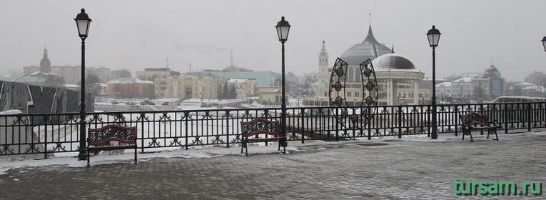 Зареченский мост в Туле